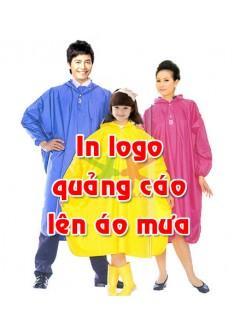 In áo mưa quảng cáo