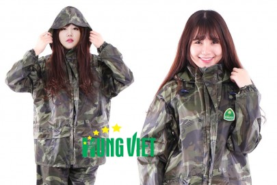 Áo mưa bộ cao cấp chất lượng của công ty Hưng Việt