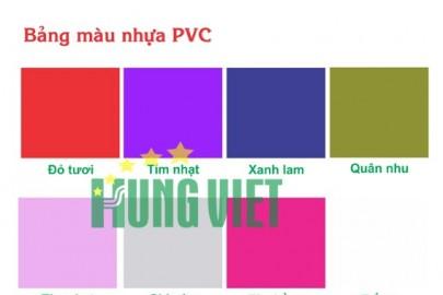 Áo mưa Hưng Việt màu sắc đa dạng, phong cách, tha hồ lựa chọn.