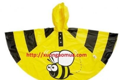 Những mẫu áo mưa được các con ưa chuộm nhất