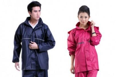 Các kiểu dáng áo mưa được ưa chuộng nhất hiện nay