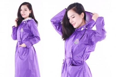 Áo mưa thời trang phù hợp phong cách hiện đại