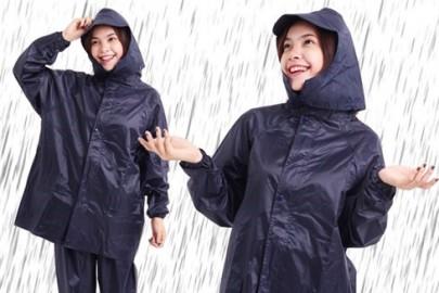 Áo mưa vải dù siêu nhẹ - Sự lựa chọn hoàn hảo cho bạn khi đi trời mưa.
