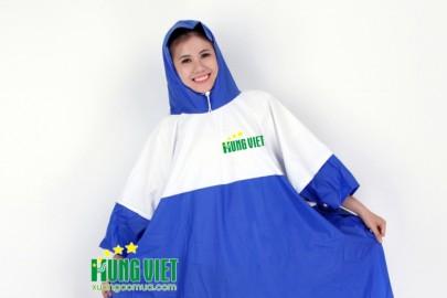 Áo mưa quảng cáo nhựa PVC