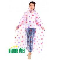 Áo mưa choàng PVC thời trang