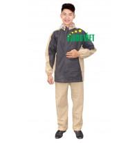 Bộ áo mưa vải PU Hàn Quốc