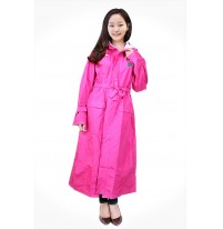 Áo mưa măng tô nữ