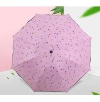 Ô dù cầm tay họa tiết chống tia UV