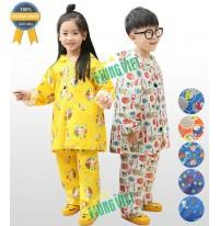 Bộ quần áo mưa trẻ em vải siêu nhẹ chống thấm