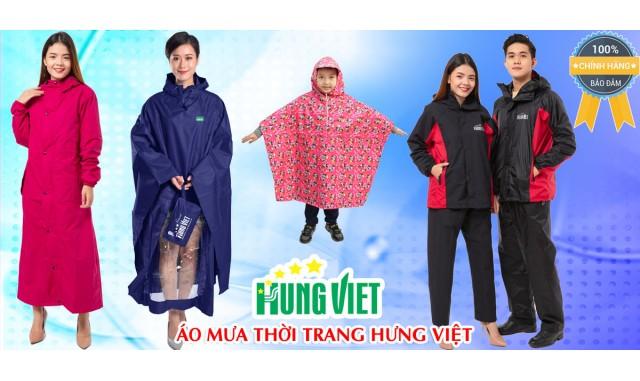 Áo mưa chính hãng Hưng Việt